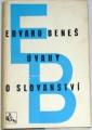 Beneš Edvard - Úvahy o slovanství