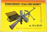 Dubánek Martin - Československé 7,62 mm lehké kulomety vz. 52 a 52/57