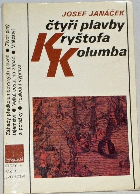 Janáček Josef - Čtyři plavby Kryštofa Kolumba
