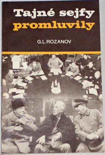 Rozanov G. L. - Tajné sejfy promluvily
