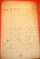 Starý francouzský dokument r. 1657