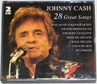 2 CD Johnny Cash - 28 Great Songs
