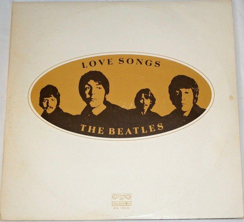 2 LP The Beatles - Love Songs
