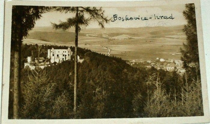 Boskovice - hrad 1955