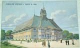 Jubilejní výstava v Praze 1908 - Pavilon obchodní a živnostenské komory pražské