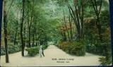 Královské město Louny - městský sad 1909