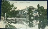 Německo - Jena - Saalepartie mit Hausberg 1909
