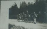 Polsko - důstojníci v kočáře 1914