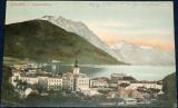 Rakousko - Gmunden, celkový pohled na město cca 1910