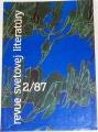 Revue svetovej literatúry 2/87, ročník 23
