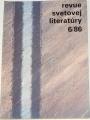 Revue svetovej literatúry 6/86, ročník 22