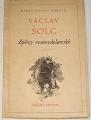 Šolc Václav - Zpěvy svatováclavské