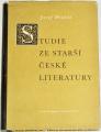 Hrabák Josef - Studie ze starší české literatury