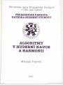 Popovič Mikuláš - Algoritmy v hudební nauce a harmonii