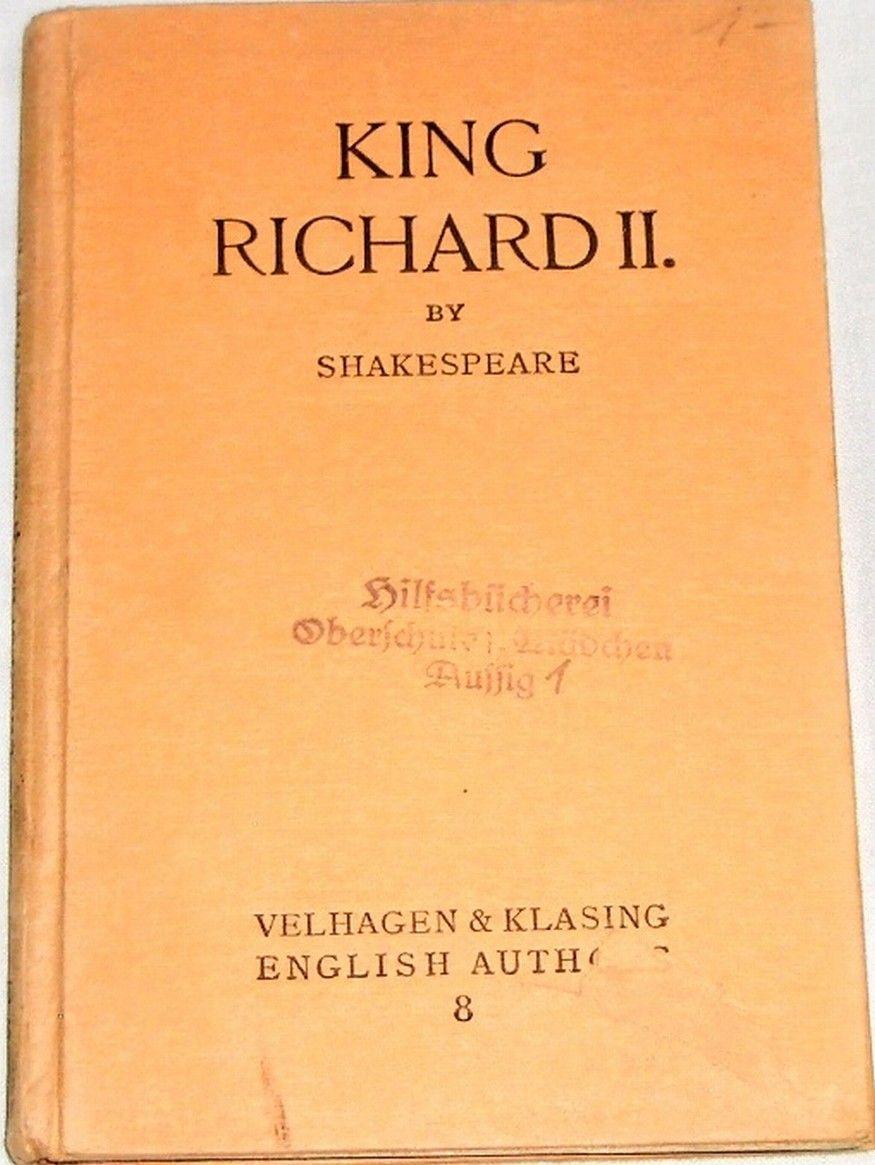Shakespeare William - King Richard II.
