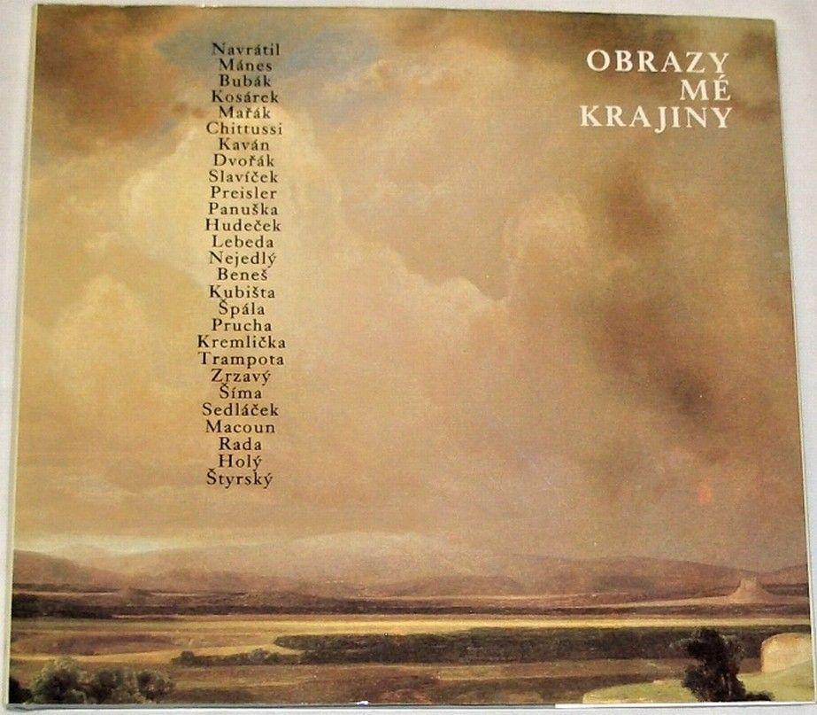 Sůva Josef, Klouda Miroslav - Obrazy mé krajiny