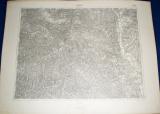 vojenská mapa Gelnica 1933