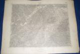 vojenská mapa Žilina 1931