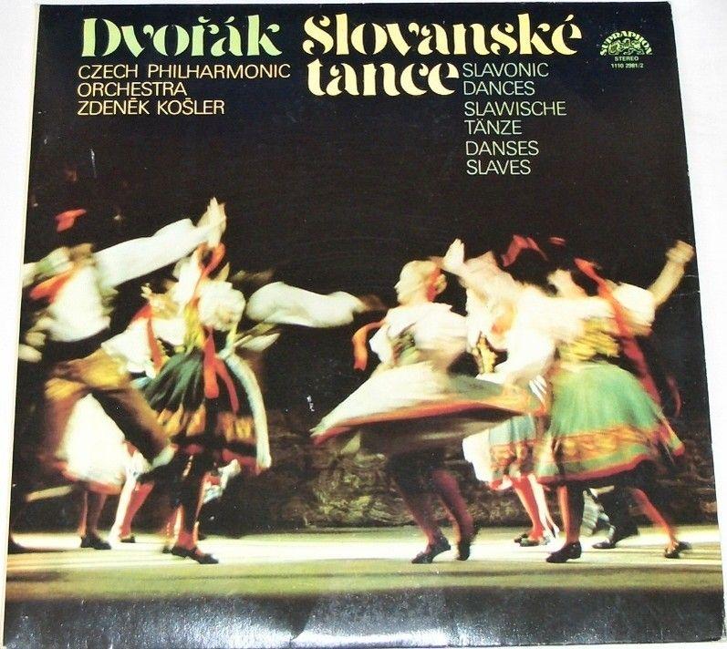 2 LP Antonín Dvořák - Slovanské tance