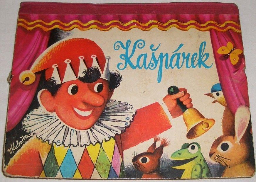 Kubašta Vojtěch - Kašpárek (leporelo) 1968