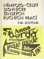 Lesyková Eva - Německo - český slovníček ženských ručních prací