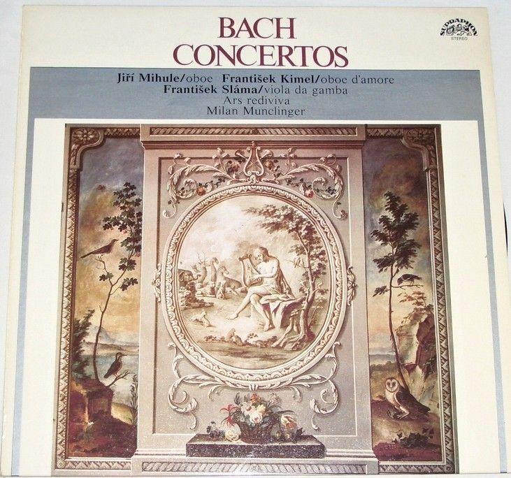 LP Bach Concertos - Koncert d moll, Koncert g moll, Koncert A dur