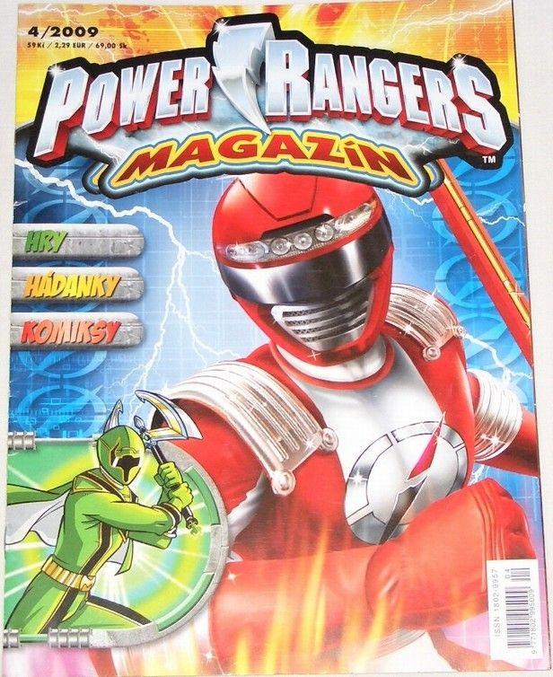 Power Rangers magazín č. 4/2009