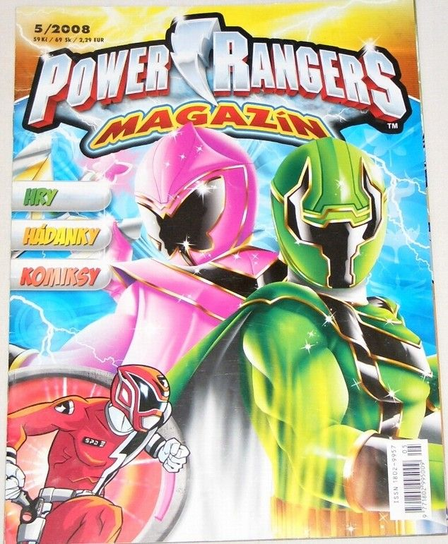 Power Rangers magazín č. 5/2008