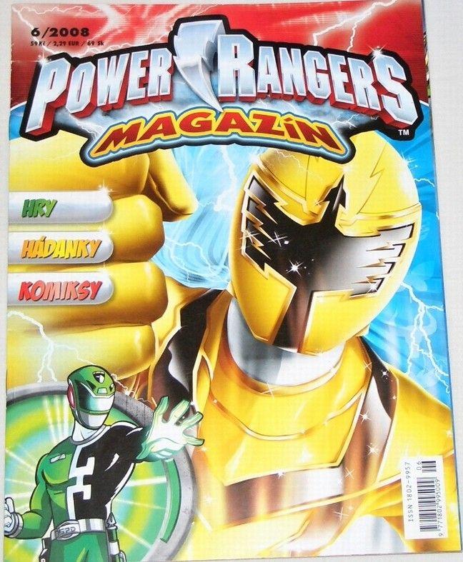 Power Rangers magazín č. 6/2008