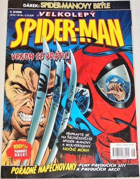 Velkolepý Spider-Man č. 8/2008