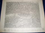 vojenská mapa Pohorelá 1933