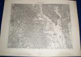 vojenská mapa Vranov nad Toplou 1932