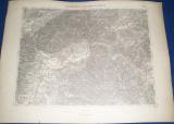 vojenská mapa Ružomberok a Turčianský Sv. Martin 1930