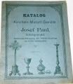 Katalog Kirchen Metal Geräte - Josef Paul, Königswald