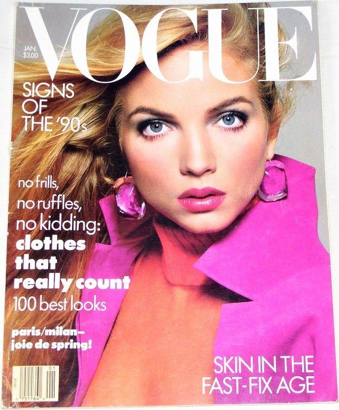 Vogue 1/1988 (americké vydání)