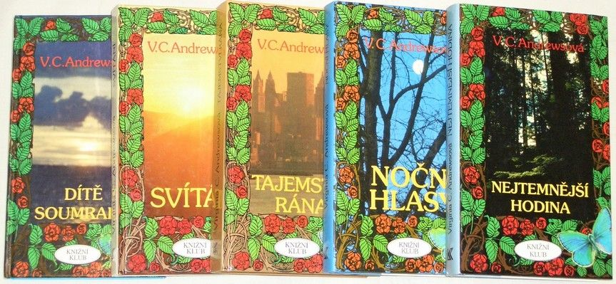Andrewsová V.C. - Svítání, Tajemství rána, Dítě soumraku, Noční hlasy, Nejtemnější hodina,