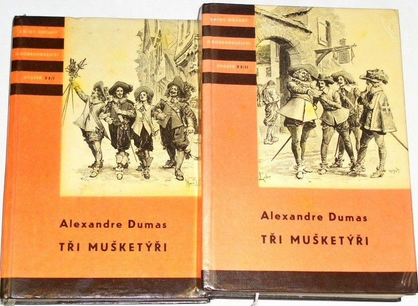 Dumas Alexandre - Tři mušketýři (KOD 23 I+II)
