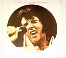 LP Elvis - A legendary Performer