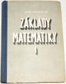 Vojtěch Jan - Základy matematiky I