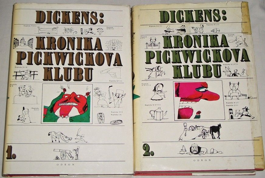 Dickens Ch. - Kronika Pickwickova klubu 1 a 2
