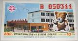 Los  282. Československá státní loterie 1985