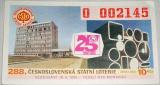 Los  288. Československá státní loterie 1985