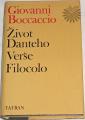 Boccaccio Giovanni - Život Danteho, Verše Filocolo