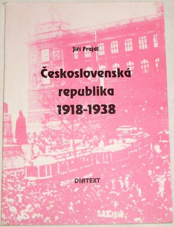Frajdl Jiří - Československá republika 1918-1938