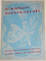 III. Wintrovy rakovnické hry 1949