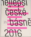 Slíva Vít, Chrobák Jakub - Nejlepší české básně 2016
