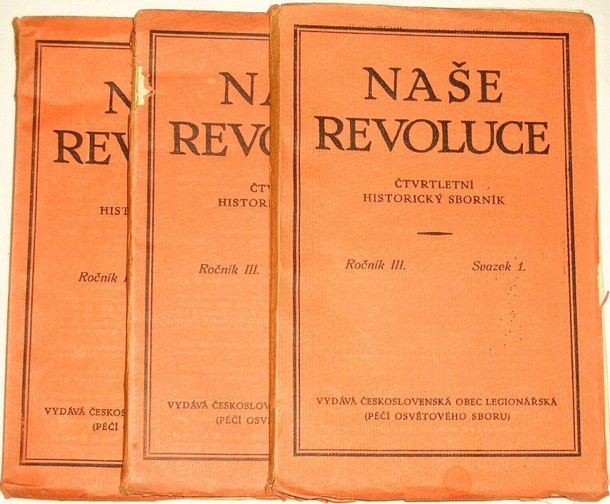 Naše revoluce - Ročník III. (Svazek 1. - 4.)