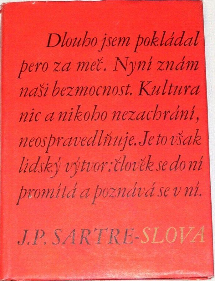Sartre Jean-Paul - Slova