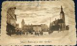 Tábor - radnice a část náměstí