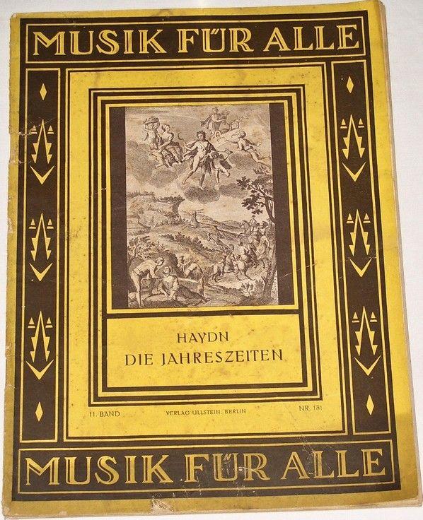 Haydn Joseph - Die Jahreszeiten